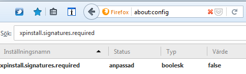 Bild av Firefox