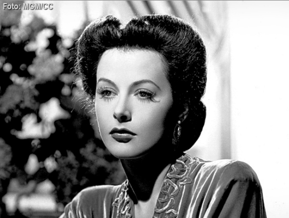Hedy Lamarr, frequency hopping movie star