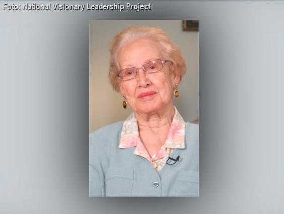Katherine Johnson, mänsklig matematikmaskin