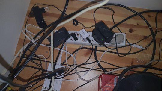 Bild av kabeltrassel