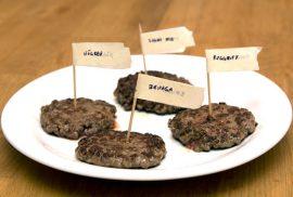 Bild av hamburgare