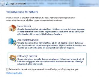 Photo of select nätvärkstyp